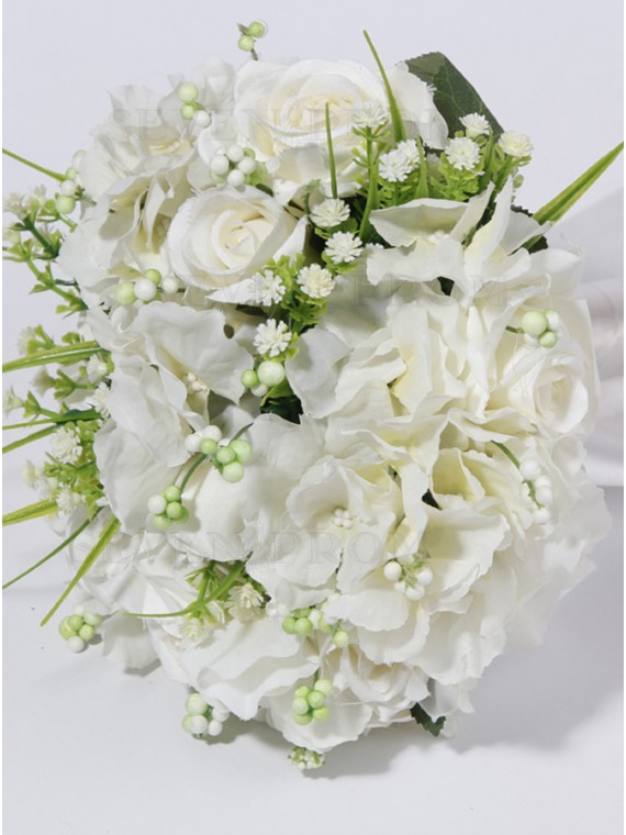 Gypsophila and Rose Bouquets Bridal Bouquets Bridesmaid Bouquets