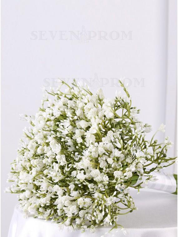 Pink Gypsophila Bridal Bouquets Bridesmaid Bouquets