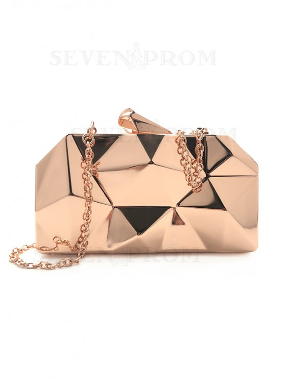 Gold Metal Clutch for Evening/Prom