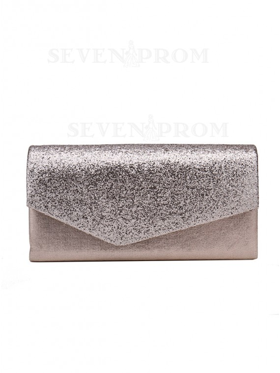 Fashion Pearl Pink Envelope Clutch Bag