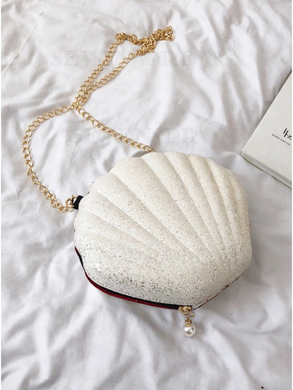 Shell White Clutches