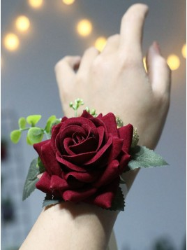 Romantic Rose Wrist Corsages