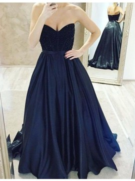 Exquisite Blue Off the Shoulder Long Prom Dress with Appliques Bowknot Beading