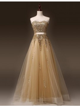 Elegant White Crew Neck Illusion Back Long Prom Dress with Beading Appliques