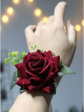 Romantic Rose Wrist Corsages