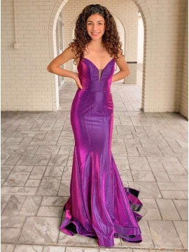 Glitter Mermaid Prom Dress