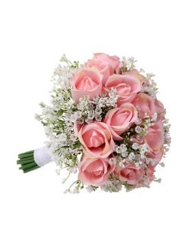 Gypsophila Rose Bridal Bouquets Bridesmaid Bouquets