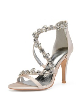 Fashion High Heels Rhinestone Women's Shoes