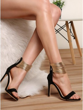 Black High Heel Prom Shoes