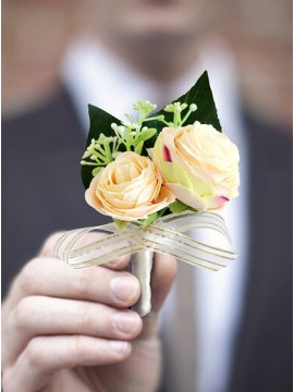 Artificial Flower Daffodil Boutonniere